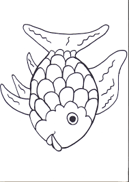 Download Coloring Pages Of Fish Rainbow Printables August Preschool Themes Child Care