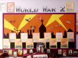 World War 2 Bulletin Board