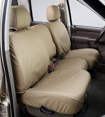 Covercraft Custom-Fit Front Bench SeatSaver Seat Covers - Polyester ...