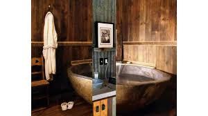 rustikales badezimmer ideen