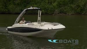 Bayliner 190 Deck Boat by 2012 Bayliner 217 Deck Boat Video Review Youtube