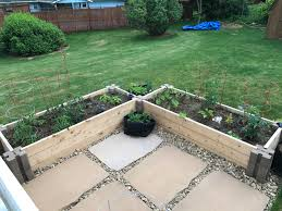 Popcorn Ceiling Patch Home Depot by New Raised Beds Using Home Depot Planter Wall Blocks Gardening