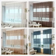 gestreifte gardinen vorhänge fürs wohnzimmer ösen günstig