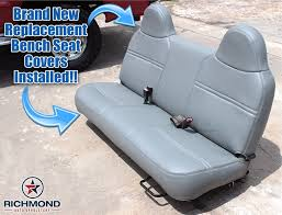 Amazon.com: 1999-2001 Ford F450 XL Work Truck -Bottom Bench Seat ... Replacement Leather Seatcovers Toyota 4runner Forum Largest Summit Foam Seat Ring Cushions Custom Status Racing 731980 Chevroletgmc Standard Cabcrew Cab Pickup Front Bench Jeep Wrangler Covers Elegant Yj Truck Seats Kab Seating Pty Ltd 2003 Ford Excursion Leather Cover Before And Permanent Repair Diy Dodge Ram Forum Dodge Forums 21996 Bronco Eddie Bauer Driver Lean Back Tan Lscomichigan V5300 Original Bucket Cushion