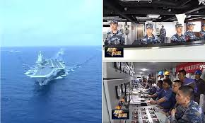 100 Aircraft Carrier Interior First Look Of The Interior Of Chinas Home Built Aircraft
