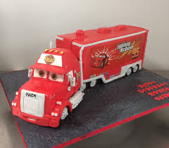 Lightning Mcqueen Mack Truck - Annette's Heavenly Cakes