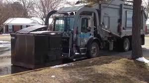 Waste Industries Mack MR688S Heil FEL - YouTube