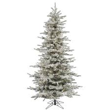 Pre Lit Pencil Christmas Trees by Amazon Com Vickerman Pre Lit Flocked Slim Sierra Tree With 250