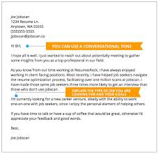 Networking Cover Letter Example