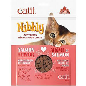 Catit Nibbly Cat Treats - Chicken 3.2 oz
