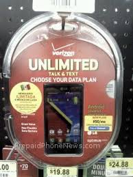 Verizon Prepaid Includes New Smartphone Plan Walmart Exclusive and