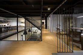 View In Gallery Ingenious Office Design Combines Modern And Industrial Styles