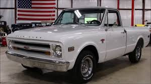 1968 Chevy C 10 White - YouTube