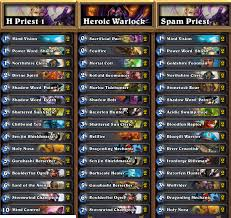 Hearthstone Malygos Deck Priest by Blog Oblio Blog