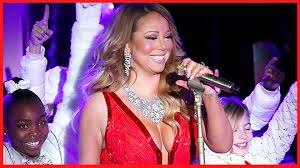Rockefeller Christmas Tree Lighting Mariah Carey by Mariah Carey Live Vocal Fail At Christmas Tree Lighting Youtube