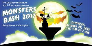 Uss Hornet Halloween Tour by Monsters Bash U2013 Uss Hornet Museum