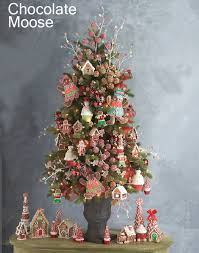 Raz Christmas Decorations Online by Raz Chocolate Moose Christmas Trees Potted Trees Chocolate