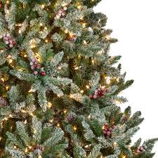 8ft Artificial White Christmas Tree by Recommended Number Of Ornaments