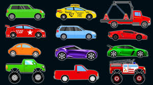Beautiful Car Picture For Kids CARS And TRUCKS KIDS Learn COLORS ...
