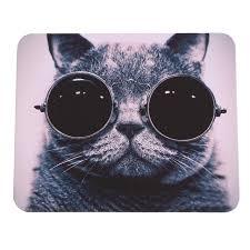 tapis de souris chaude chat image anti slip ordinateur portable pc