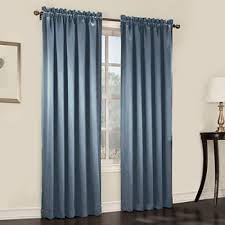 blue curtains drapes for window jcpenney