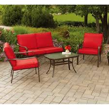 100 Mainstay Wicker Outdoor Chairs Amazoncom S Stanton Cushioned 4Piece Patio Conversation