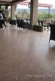 moroccan cement tile villa lagoon tile
