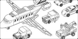 Free Lego Car Coloring Pages To Printable