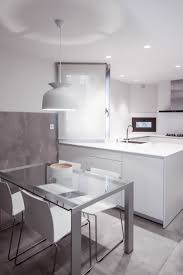 Proyecto de Clysa para cocina Santos modelo Line en Blanco Seff