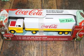100 1960 Chevrolet Truck Die Cast Bank Trailer Made By Ertl Company