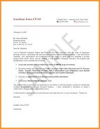 Financial Analyst Cover Letter Samples Fungram