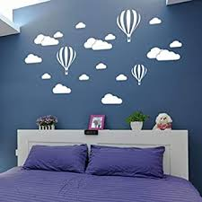 beautyjourney wandsticker baum für kinder zum basteln große wolken wände kinder schlafzimmer dekoration kunst haus
