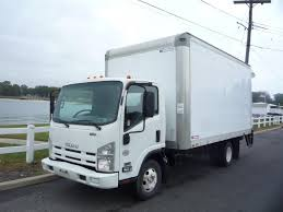 USED 2010 ISUZU NPR HD BOX VAN TRUCK FOR SALE IN IN NEW JERSEY #11463