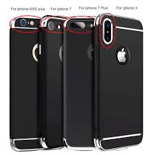 For iPhone X 6 6S 7 8 iPhone8 Plus Case Shockproof Ultra Thin
