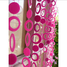 Target Pink Window Curtains by Bedroom Fascinating Door Decorating Ideas With Attractive Bead