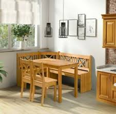details zu eckbank xeli set mit 2 stühle und tisch esszimmer set erleholz sitzgruppe ecke