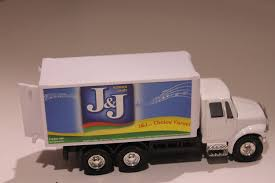 100 Delivery Trucks Amazoncom J J Die Cast Pull Back Toy Truck In White