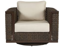 A.R.T. Furniture Epicenters Outdoor Brentwood Wicker Swivel Rocking Club  Chair