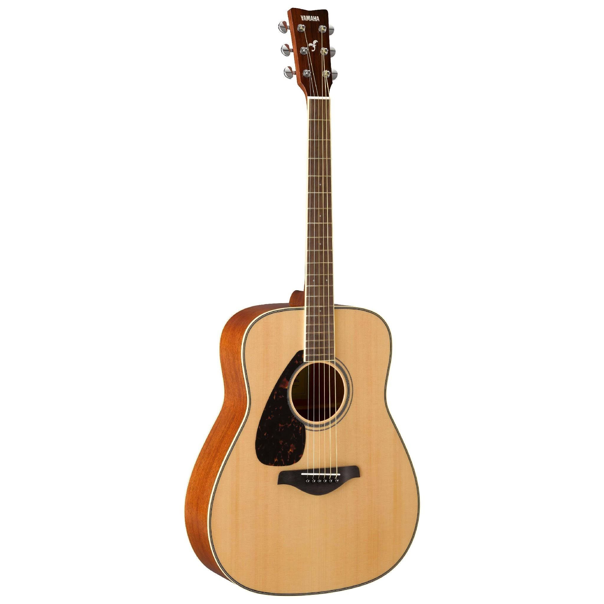 Yamaha FG820L Dreadnought Acoustic Guitar - Natural, Left-Handed