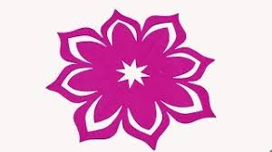Paper Cutting FlowersHow To Make Simple Easy Flower Designs
