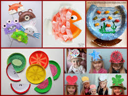 Kid Craft Ideas Paper Plate Crafts