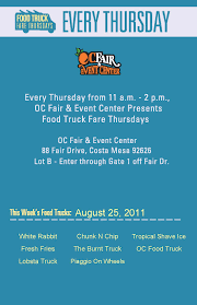 Gourmet Food Trucks Roll Back To The OC Fair For Food Truck Fare ...