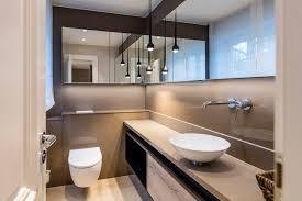 moderne badmöbel contemporary powder room frankfurt