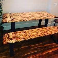 Modern Southern Pine Farm Table W/matching Bench Lindsey Farm 6piece Trestle Table Set Urban Chic Small Ding Bench Hallowood Amazoncom Vermont The Gather Ash 14 Rentals San Diego View Our Gallery Lots Of Rustic Tables Jesus Custom Square Farmhouse Farm Table W Matching Benches Reclaimed Chestnut Wood Harvest Matching Free Diy Woodworking Plans For A Farmhouse Handmade Coffee Ashley Distressed Counter 4 Chairs Modern Southern Pine Wmatching Bench