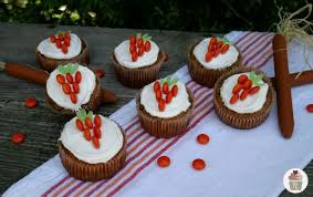 Carrot Cake Cupcakes of course Typically
