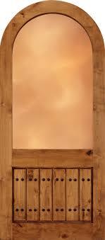 Custom Wood Front Doors