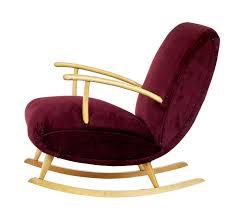 Mid 20th Century Scandinavian Modern Birch Rocking Chair