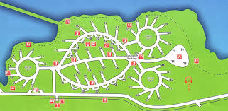 Boardman Marina Park RV Campsite Layout