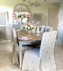 Shabby Chic Dining Chairs Outstanding Chair Art Design And Inspiring Room Covers For
