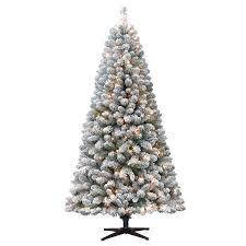 Mini Fiber Optic Christmas Tree Walmart by Holiday Time Pre Lit 6 5 U0027 Crystal Pine Artificial Christmas Tree